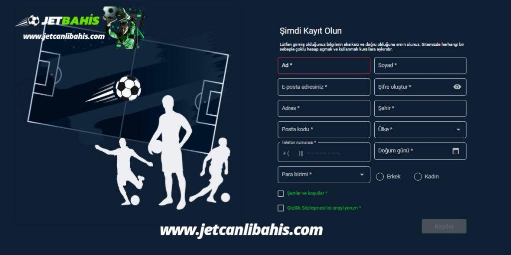 Jetbahis Şans Oyunları Sitesi - Giriş ve Kayıt Detayları